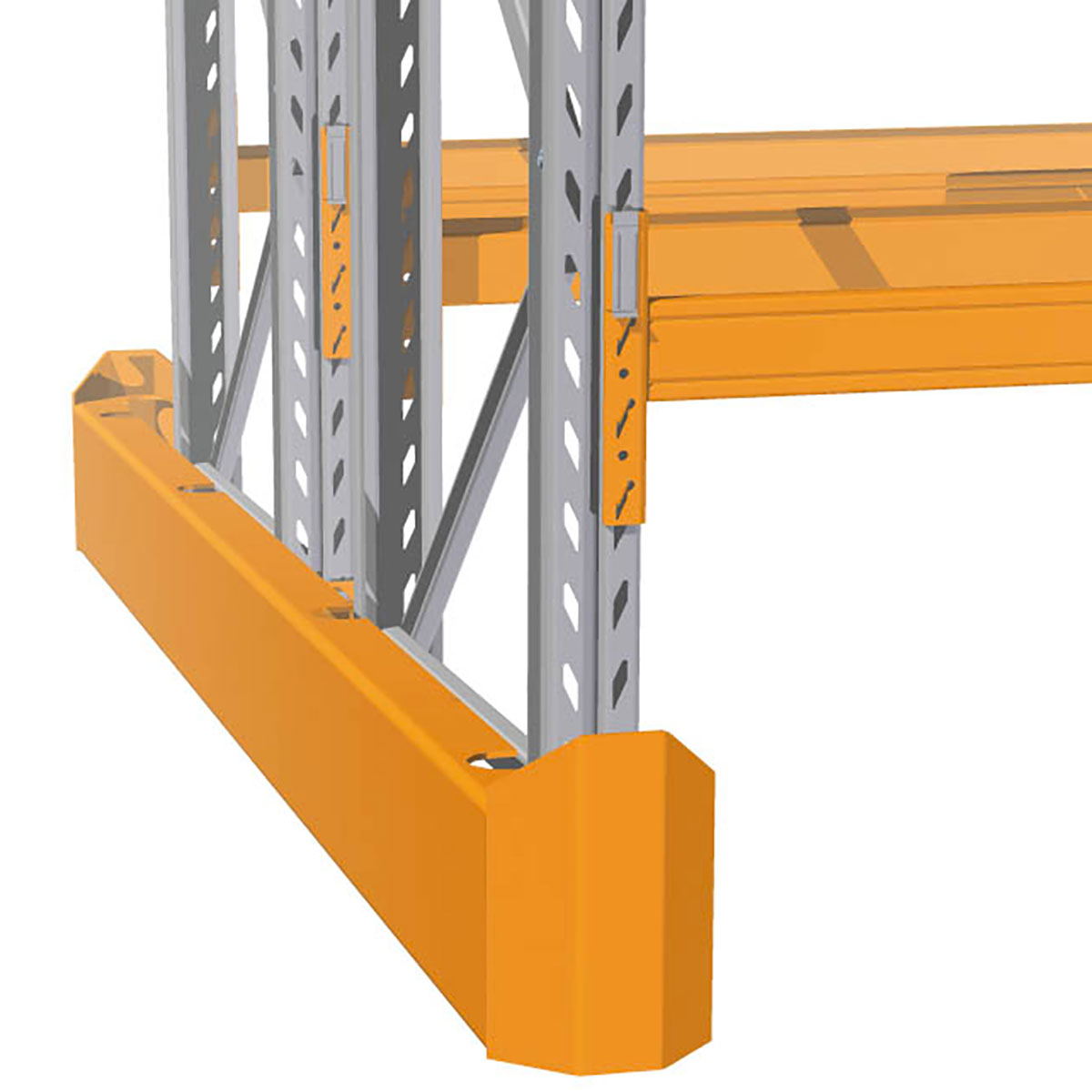 Rack-End-Protector Warehouse racking accessories